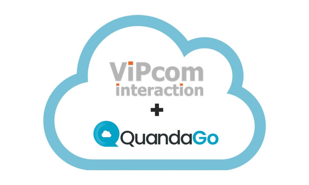 ViPcom and QuandaGo partner on Cloud Contact Centers