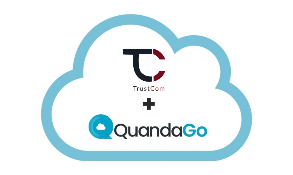 Trustcom Partner with QuandaGO