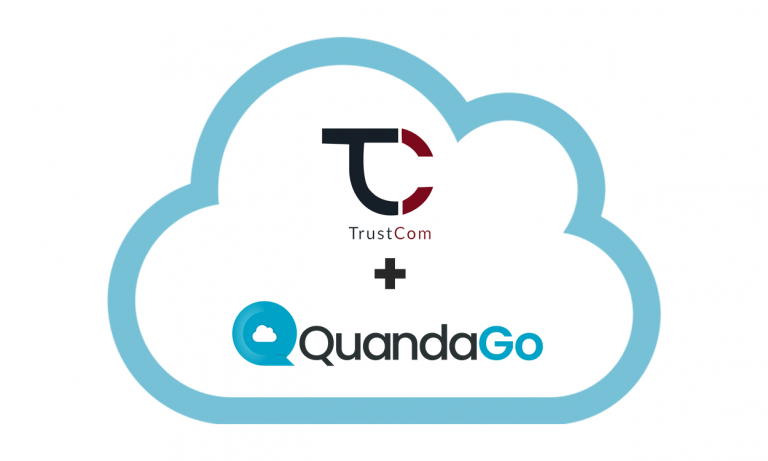 Trustcom Partner with QuandaGO